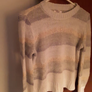 Lauren Conrad XS Striped Sweater - New no tags